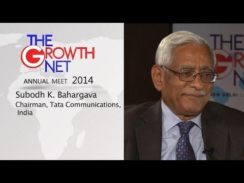 Subodh K. Bhargava, Chairman, Tata Communications, India