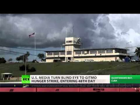 Blackout TV: US media turn blind eye to Gitmo hunger strike