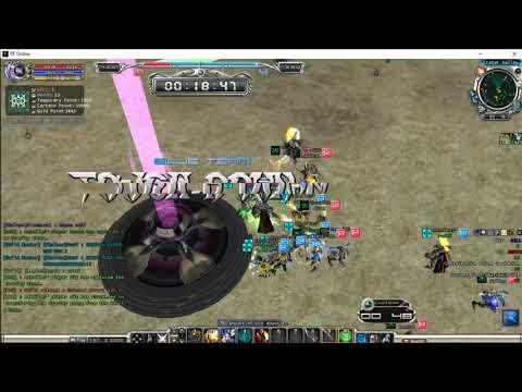 RF Online Indonesia (Private Server) GvG Rebelles vs GOD