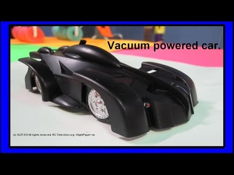 Vacuum Powered Car.