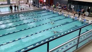 Shepard's first swim meet-2