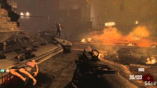 COD: Black ops 2 Zombies Green Run/Town Survival Level 1-10 Hellhounds/Dogs