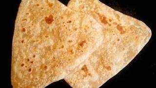 Triangle Roti Paratha Recipe Video by Bhavna