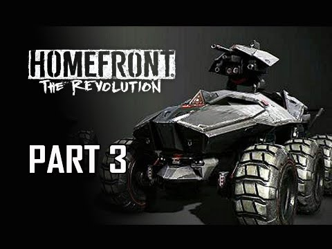 Homefront The Revolution Walkthrough Part 3 - Goliath Tank (PC Ultra Let's Play Commentary)
