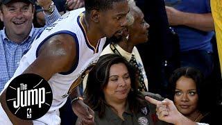 Kevin Durant Responds To Rihanna Following NBA Finals Win | The Jump | ESPN