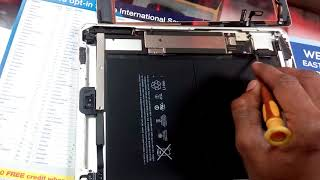 IPad Air,Ipad pro shuts down even battery fully charged 100% FIX