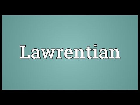 Header of lawrentian