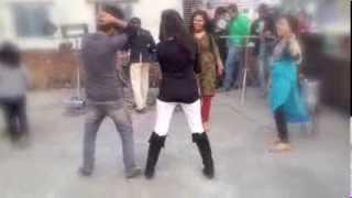 dancing in shakrain.
