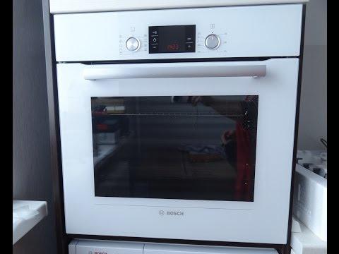 Духовой шкаф Bosch HBG 33B520  Готовим макаронник