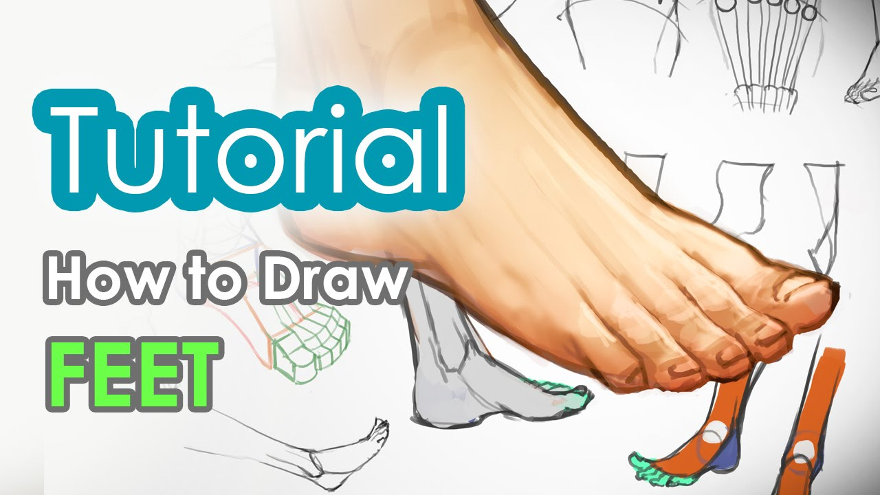 Pointed Feet Drawing How to Draw Feet
