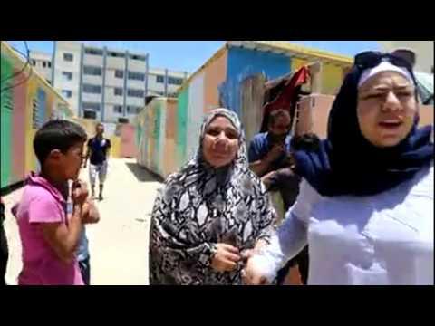 135 familles retrouvent la lumière - Gaza - Juin 2016