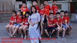 Cô trò lớp 1A4 Th Nguyễn Thượng Hiền - Hải Phòng(2017-2018)