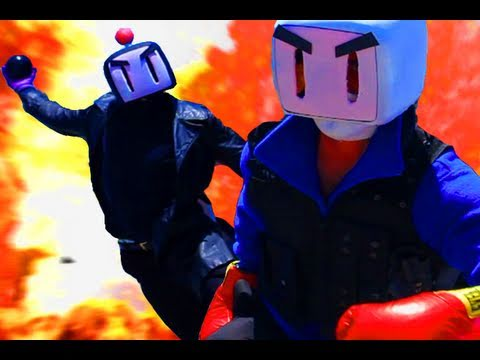 Game Trailers - BOMBERMAN Movie Trailer | Game Station Exclusive! - TGS