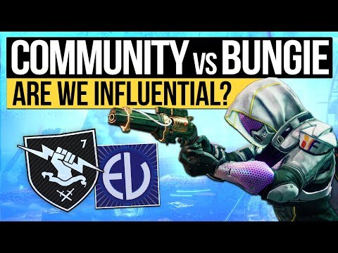 Destiny 2 | THE COMMUNITY vs BUNGIE? - Our Community Influence & The Importance of Future Feedback!