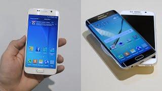Samsung Galaxy S6 vs S6 Edge - Hands-on Comparison!