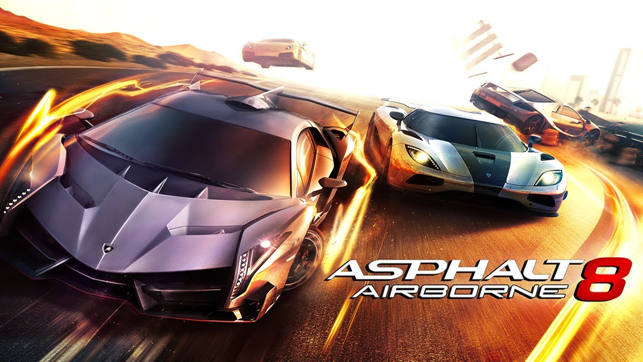 لعبه Asphalt 8: Airborne v2.6.1a مهكره جاهزه كل شئ (تحديث)