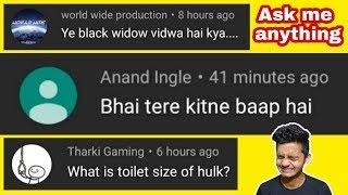 Ask me anything mai logo ne kya creativity dikahi hai | Kuch bhi pucha hai