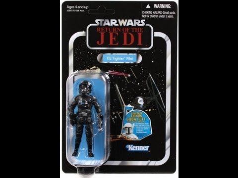 Star Wars Vintage Collection Tie Fighter Pilot VC65 HD Action Figure Review | www.flyguy.net