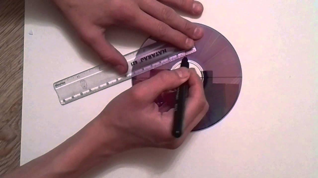 Как сделать сюрикен из диска за 10 минут