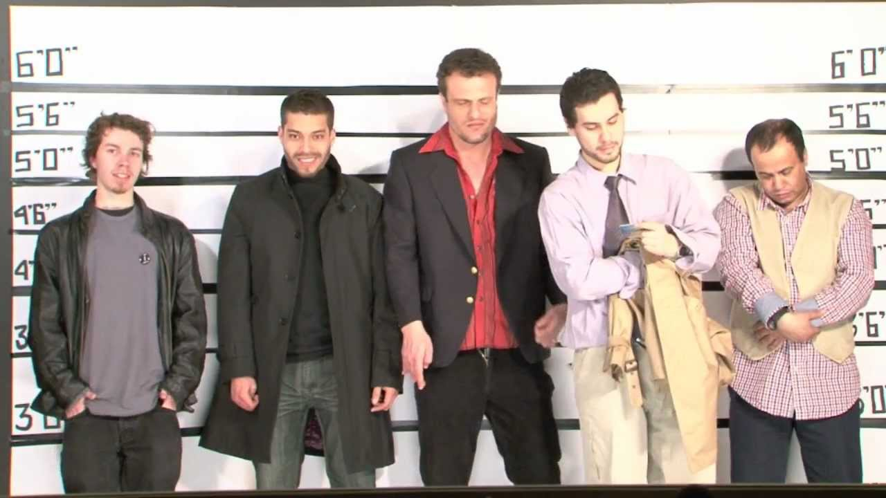 The Usual Suspects Line Up YouTube