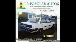 .:La Popular Autos:. - Toyota Carina (1988)