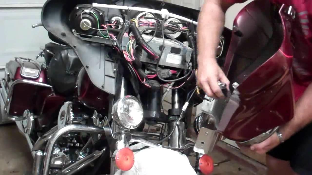 2000 Harley Davidson Electra Glide Firing Removal