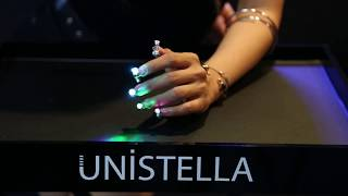 [UNITV]How to LED Disco Nails nail ? Nail tutorial