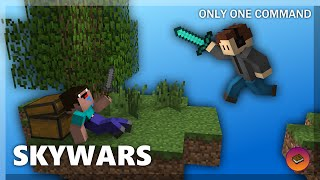 CUSTOM SKYWARS in only one command! [Minecraft 1.9]