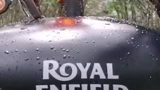 Royal enfield classic 500 stealth black, karan Bilgi