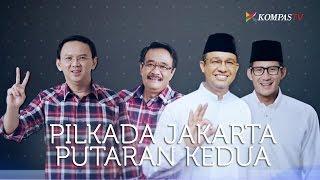 Hitung Cepat Pilkada DKI Jakarta Ahok-Djarot VS Anies-Sandi