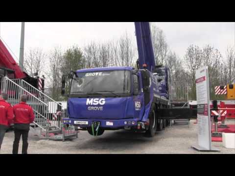 Manitowoc's new five-axle Grove GMK5150 crane
