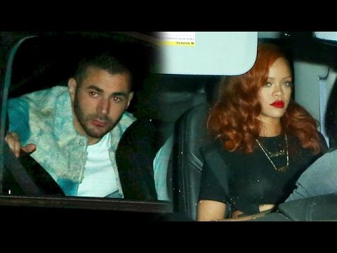 Rihanna And Soccer Star Karim Benzema Share Romantic Dinner At Giorgio Baldi