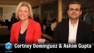 Cortney Dominguez, World Fuel Services & Ashim Gupta, UiPath | UiPath Forward 2018