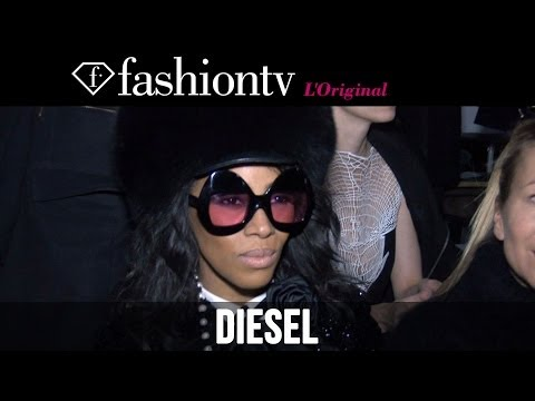 Diesel Fall/Winter 2014-15 Front Row | New York Fashion Week NYFW | FashionTV