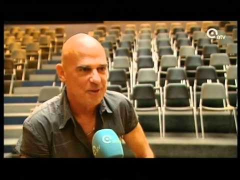 Interview Ludo Mariman before the concert in Wilrijk on saturday 07 august 2010 ( ATV television )