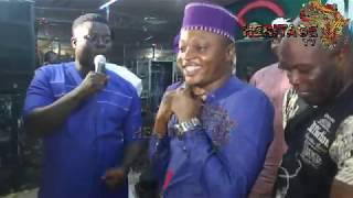Taye currency celebrate his son  Hon. Yusuf Adebisi's victory