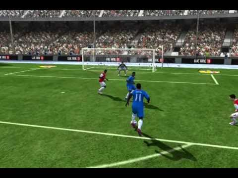 FIFA 11 [PC] - Mistake by Manuel Almunia (Goalkeeper)