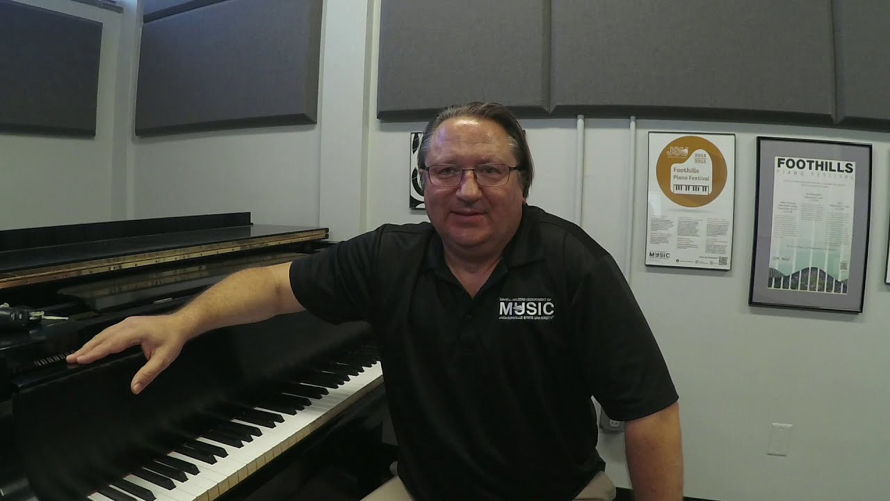 Dr. Andy Nevala Discusses His Piano Background