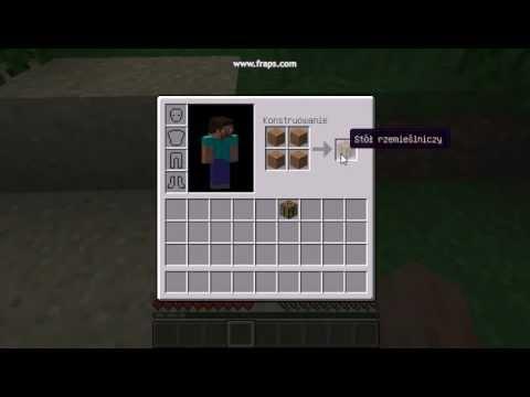 Jak Zrobi St Rzemielniczy W Minecraft YouTube