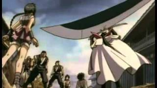 Epic anime entrance