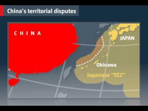 china territorial dispute video economist