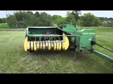 John Deere 24T Hay Baler Ressurected