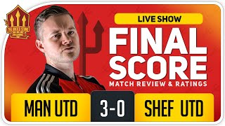GOLDBRIDGE! MARTIAL HAT-TRICK AT LAST!!!  Manchester United 3-0 Sheffield United Match Reaction
