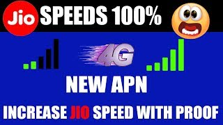 Jio New Apn Setting October 2018 | How To Increase Jio Internet Speed