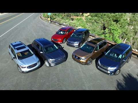 watch 2017 Midsize Suv Comparison Kelley Blue Book video