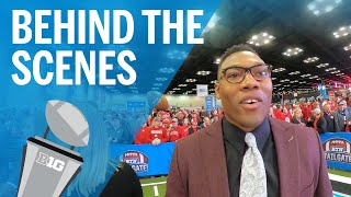 Behind the Scenes with Joshua Perry | B1G Football Championship Game