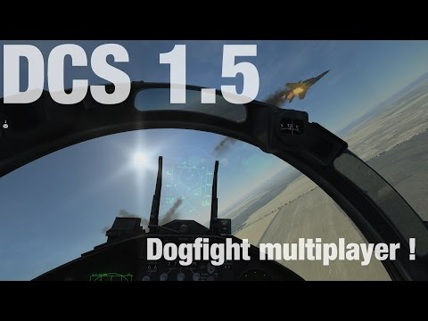 DCS 1.5 !! Dogfight Bien Chaud En Multijoueur ! F-15