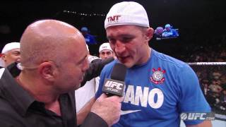 UFC 160: Junior dos Santos Post-Fight Interview