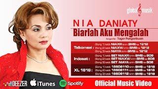 Download Lagu Nia Daniaty - Biarlah Aku Yang Mengalah (Official Lyric Video) Gratis STAFABAND