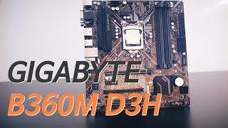 모니터 출력포트, 고민하지 마세요. 다 지원해요. GIGABYTE B360M D3H 메인보드